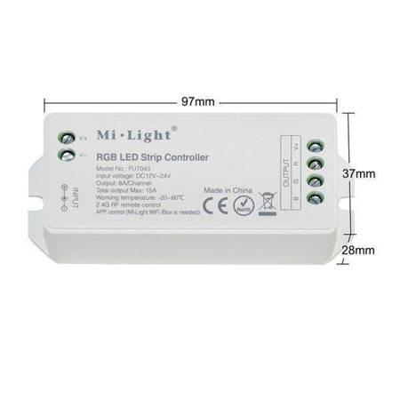Kontroler LED  MI-LIGHT MI-LIGHT RGB 12-24V DC 15A