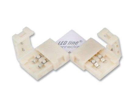 Łącznik kątowy CONNECTOR CLICK do taśm LED line® 8mm 2 pin typ L