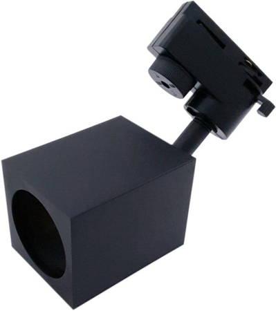 Lampa na szynoprzewód GU10 BRICK - czarna