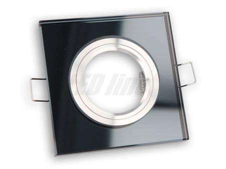 Oprawa halogenowa sufitowa - szklana, stała