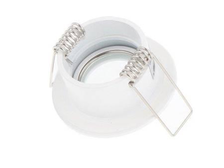 Oprawa wodoodporna MR11 okrągła biała