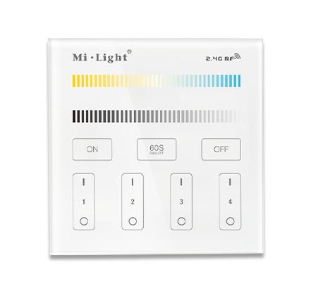 Panel naścienny MI-LIGTH T2 CCT bezprzewodowy