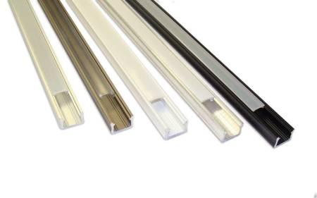 Profil nawierzchniowy SLIM biały lakierowany typ X 2 metry