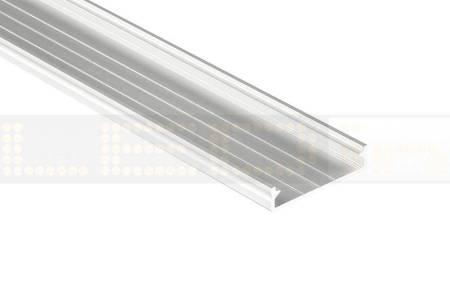 Profil nawierzchniowy biały anodowany typ SOLIS 1 metr