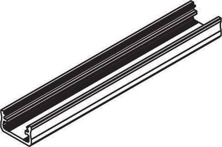 Profil nawierzchniowy czarny anodowany typ A 2 metry