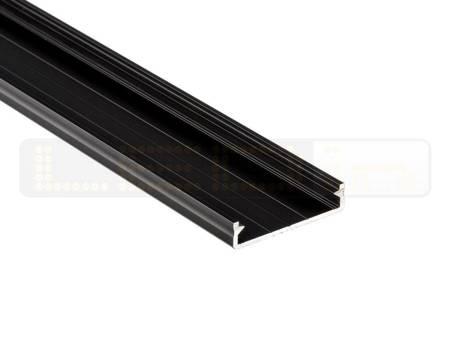 Profil nawierzchniowy czarny anodowany typ SOLIS 1 metr
