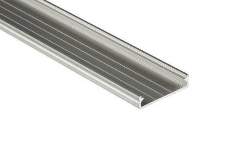 Profil nawierzchniowy srebrny anodowany typ SOLIS 1 metr