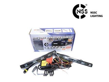 Światła do jazdy dziennej samochodowe NSSC DRL 523HP mini