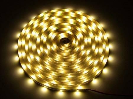 Taśma LED line 150 SMD 3528 biała ciepła 2865-3025K w powłoce silikonowej IP65 5 metrów