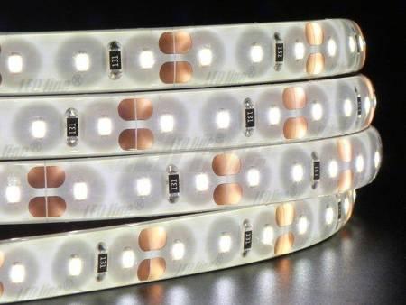 Taśma LED line 600 SMD2216 12V biała dzienna 3900-4175K w powłoce silikonowej IP65 5 metrów