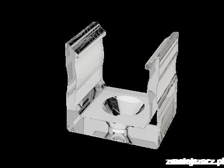 Uchwyt 1 sztuka do profilu nawierzchniowego Lumines typ A transparentny