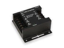 Wzmacniacz sygnału do taśmy LED RGB 12V~24V DC 24A (3*8A)