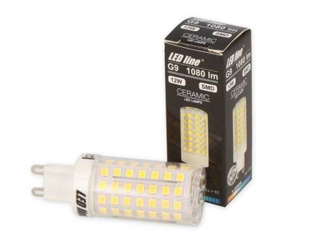 Żarówka LED G9 230V 12W 1080lm 4000K biała dzienna