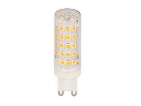 Żarówka LED G9 230V 8W 750lm 6000K biała zimna