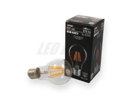Żarówka LED line FILAMENT E27 180-260V 8W 976lm biała ciepła 2700K A60