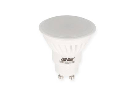 Żarówka LED line® GU10 SMD 170-250V 10W 1000lm biała dzienna 4000K