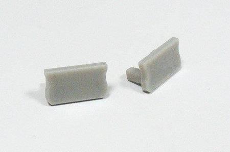 Zaślepka 1 sztuka do profilu SLIM Lumines typ X szara