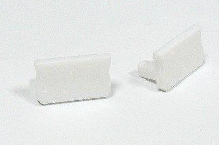 Zaślepka 1 sztuka do profilu nawierzchniowego Lumines typ A biała