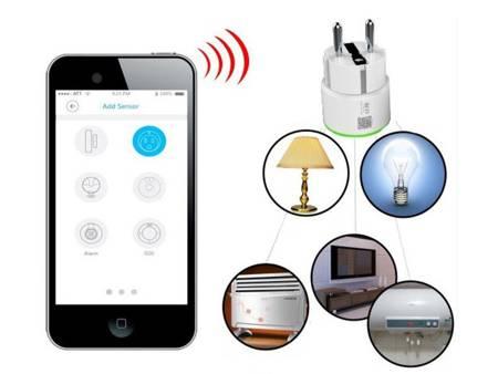 Zdalnie sterowane gniazdko bezprzewodowe NEO WiFi Tuya z funkcją pomiaru zużycia energii