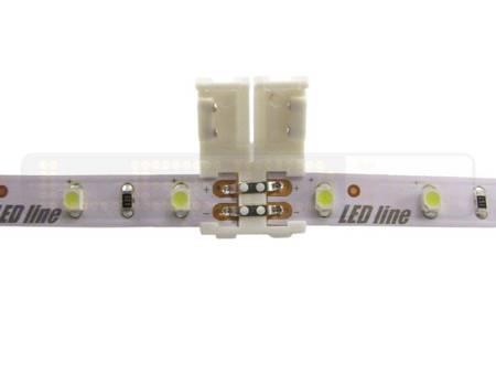 Złączka CLICK podwójna do taśm LED 8mm