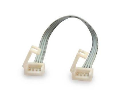 Złączka CLICK podwójna do taśm LED RGB wodoodpornych 10mm + przewód